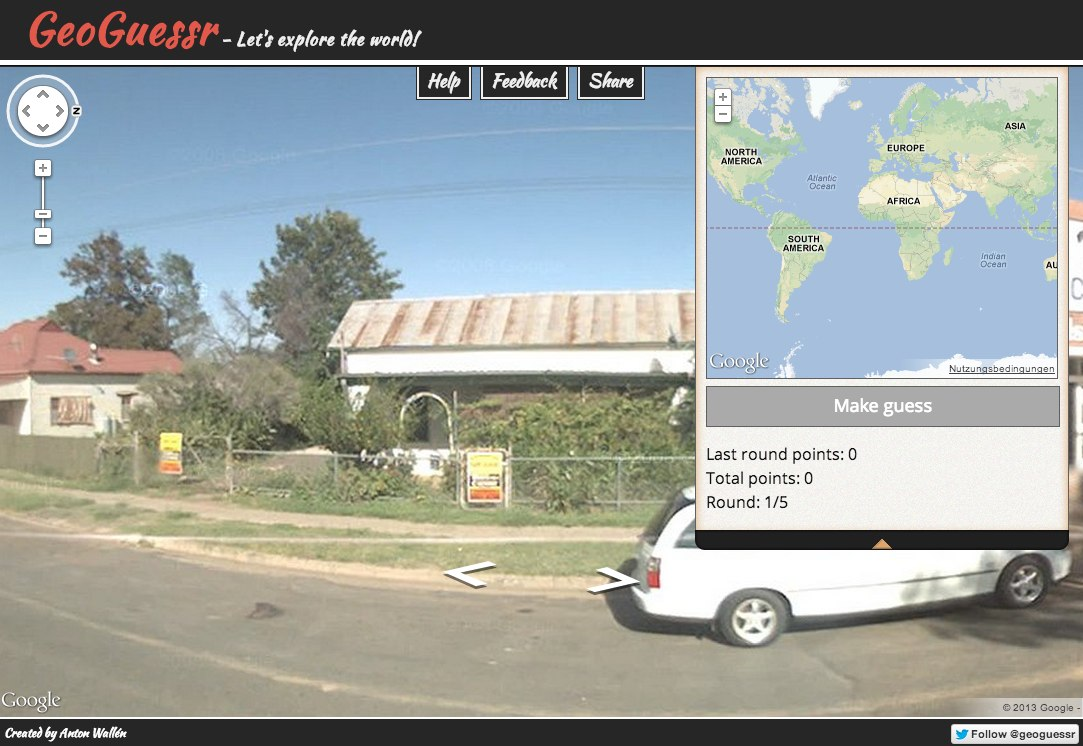 GeoGuessr - Let_s explore the world!